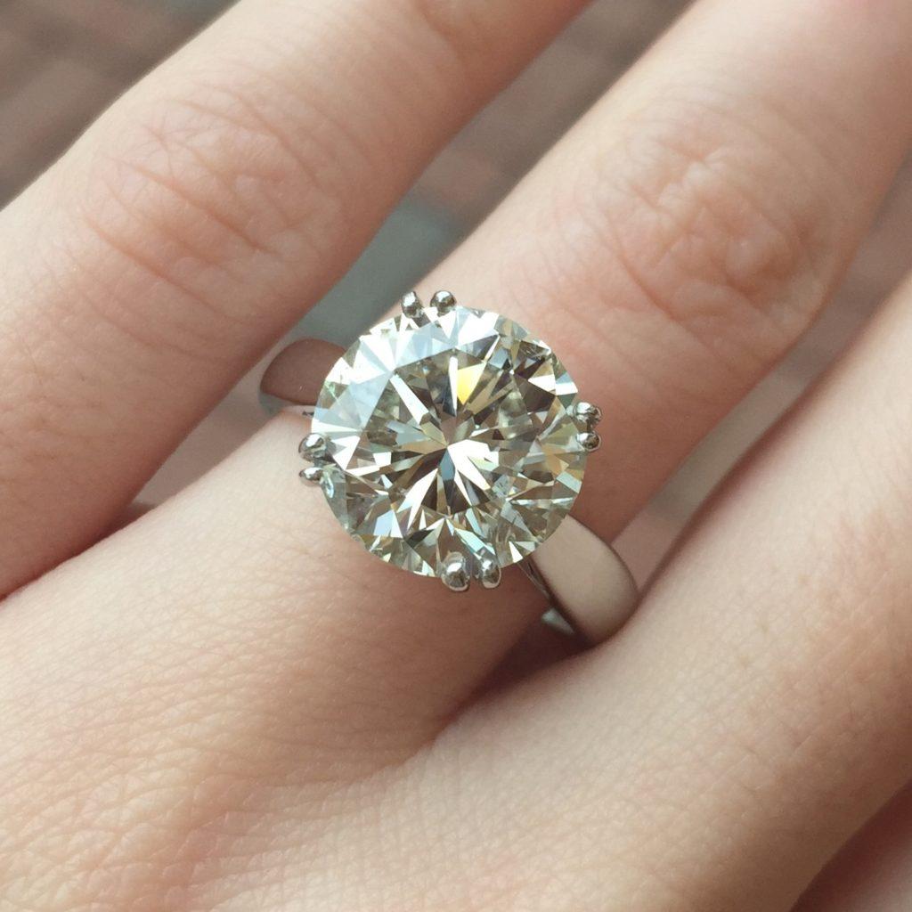 Loose Diamond 5 18 Carat Round Si2 Clarity J Color